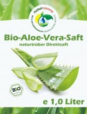 Bio-Aloe-Vera-Saft (1 Liter)