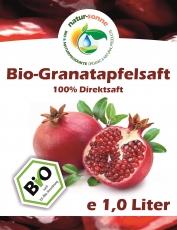 Bio-Granatapfelsaft (1 Liter)